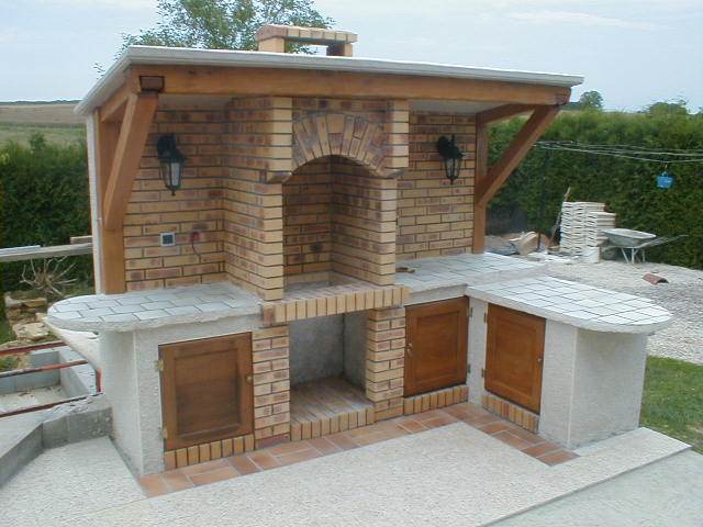 Cr er un barbcue - Construire son barbecue exterieur ...